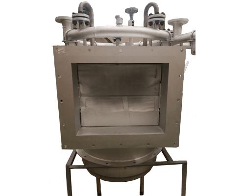 low nox burner front side