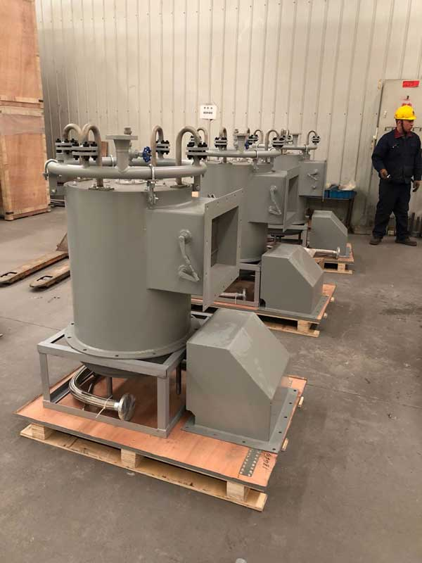 ultra low nox burner in factory