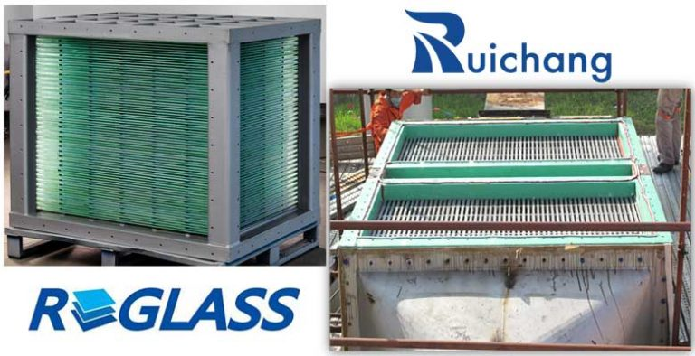 Glass Plate Heat Exchanger