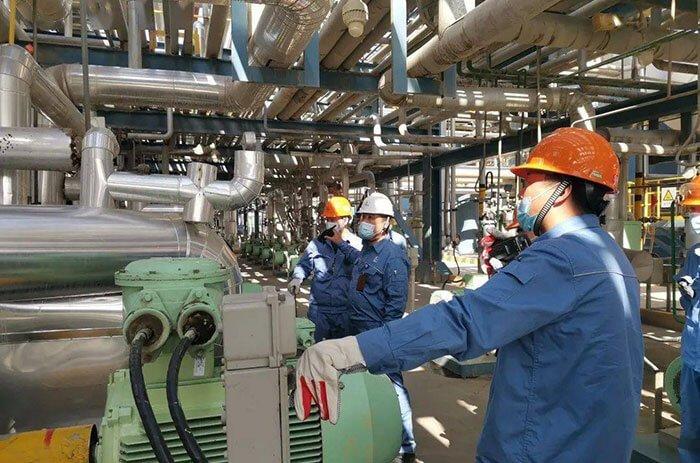 SRU equipment maintenance