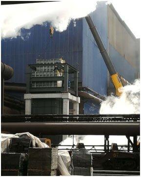 Slag flushing exhaust steam wet flue gas treatment system project